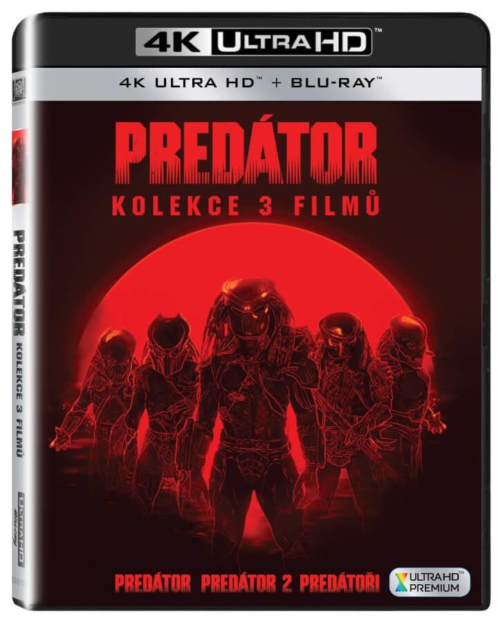 Predátor 1-2+Predátoři kolekce (4K ULTRA HD+BLU-RAY) (6 BLU-RAY)