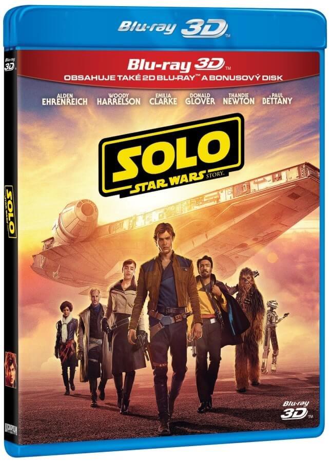 Solo: Star Wars Story (2D+3D+BLU-RAY BONUS) (3 BLU-RAY)