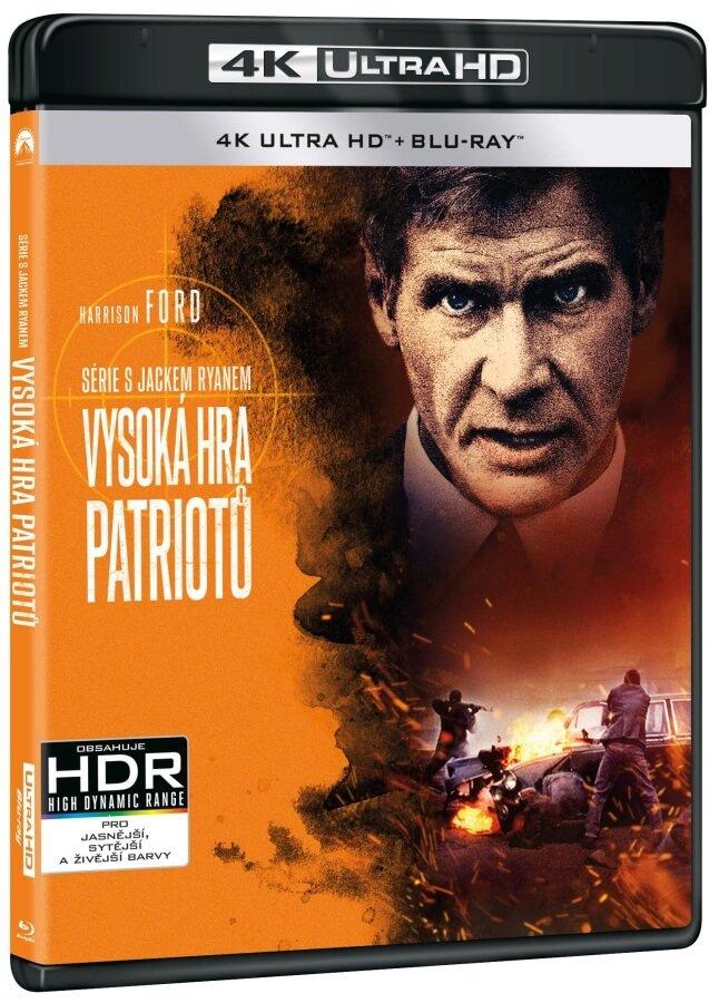 Vysoká hra patriotů (4K ULTRA HD+BLU-RAY) (2 BLU-RAY)
