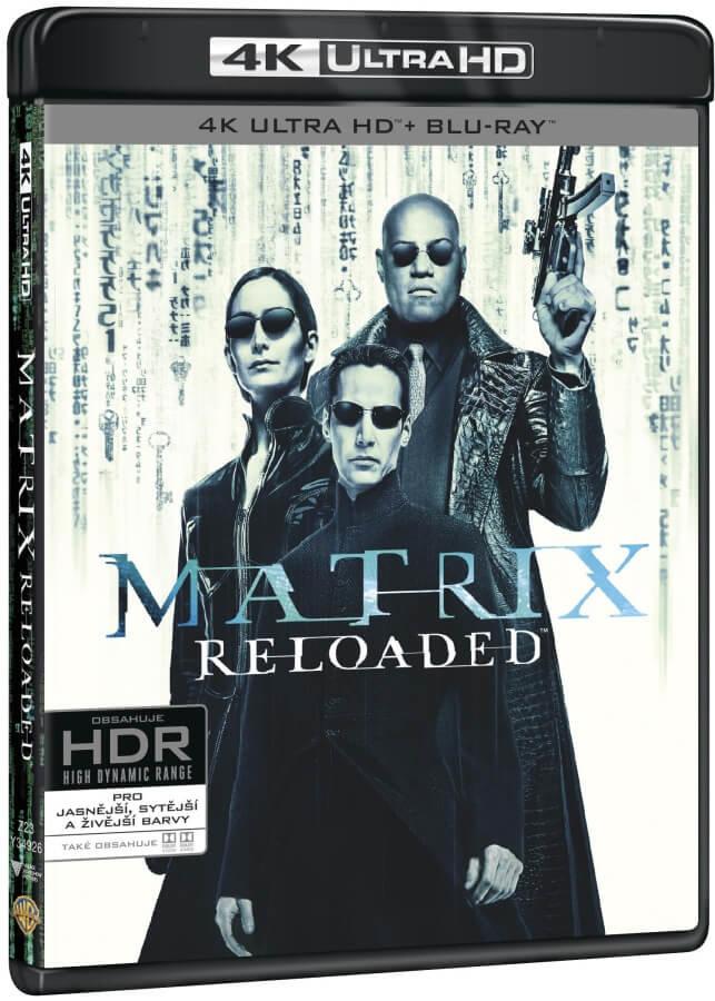 Matrix: Reloaded (4K ULTRA HD+BLU-RAY+BD BONUS) (3 BLU-RAY)
