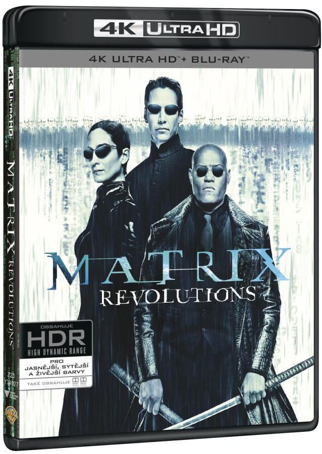 Matrix Revolutions (4K ULTRA HD+BLU-RAY+BD BONUS) (3 BLU-RAY)