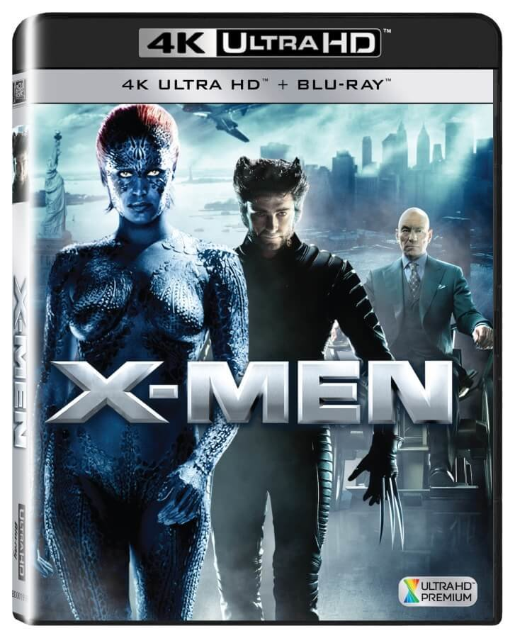 X-Men (4K ULTRA HD+BLU-RAY) (2 BLU-RAY)