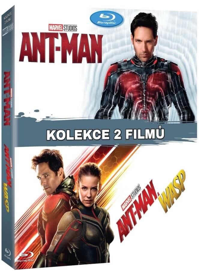 Ant-Man 1-2 kolekce (2 BLU-RAY)