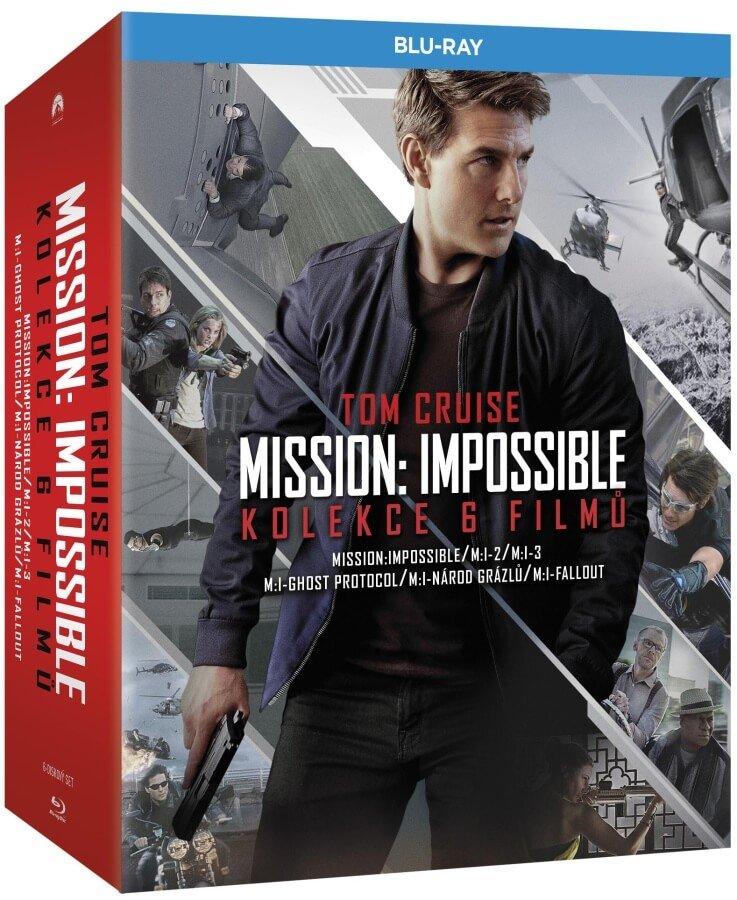 Mission: Impossible kolekce 1-6 (6 BLU-RAY)