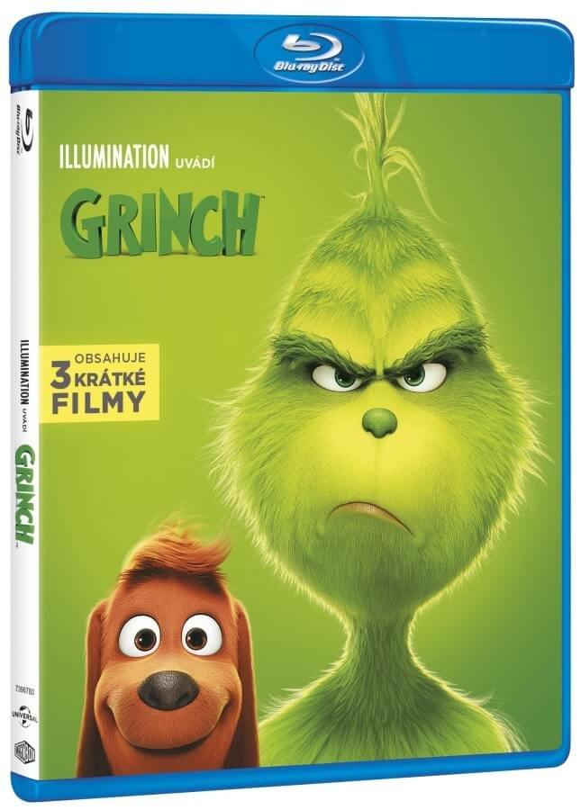 Grinch (2018) (BLU-RAY) - animovaný
