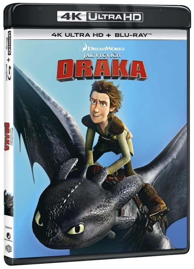 Jak vycvičit draka (4K ULTRA HD+BLU-RAY) (2 BLU-RAY)
