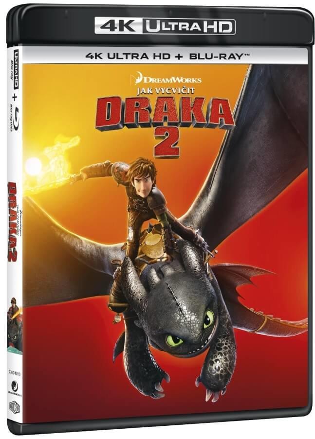 Jak vycvičit draka 2 (4K ULTRA HD+BLU-RAY) (2 BLU-RAY)