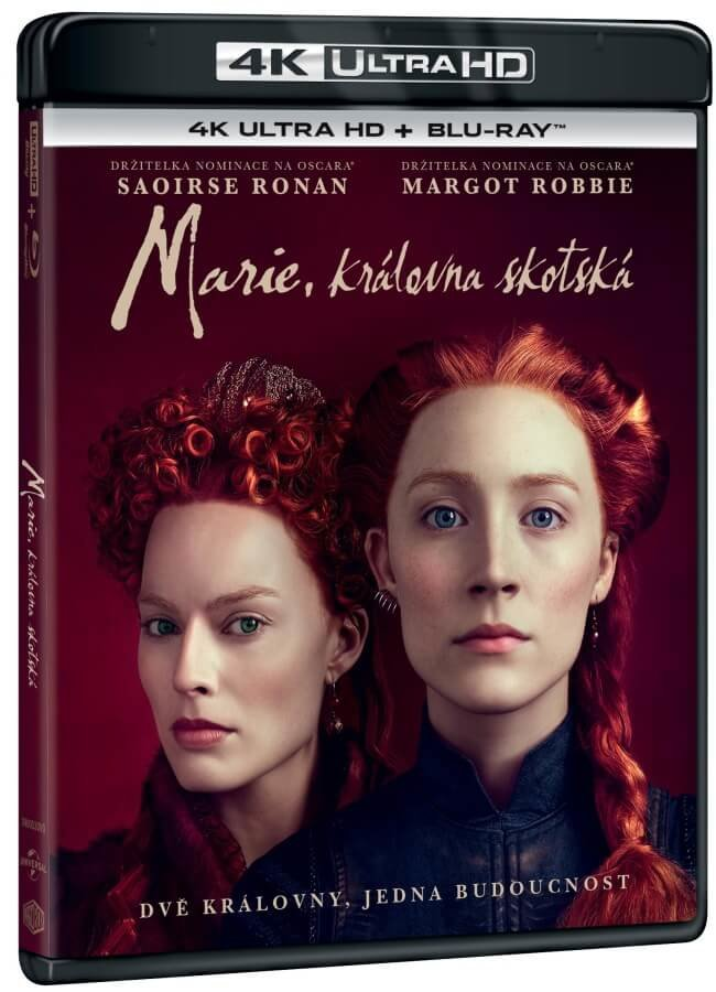 Marie, královna skotská (4K ULTRA HD+BLU-RAY) (2 BLU-RAY)