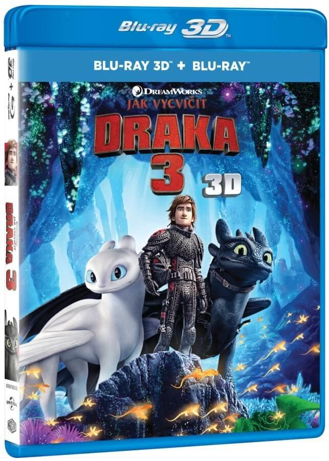 Jak vycvičit draka 3 (2D+3D) (2 BLU-RAY)
