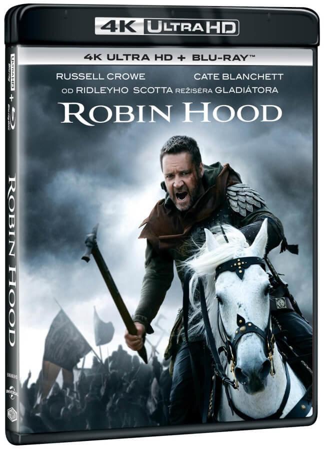 Robin Hood (2010) (4K ULTRA HD+BLU-RAY) (2 BLU-RAY) - 2 verze filmu