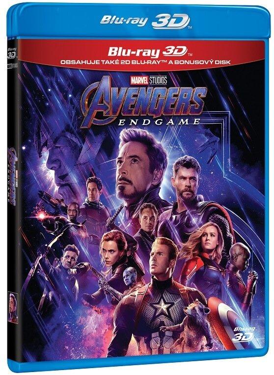 Avengers 4: Endgame (3D+2D+Bonus disk) (3 BLU-RAY)