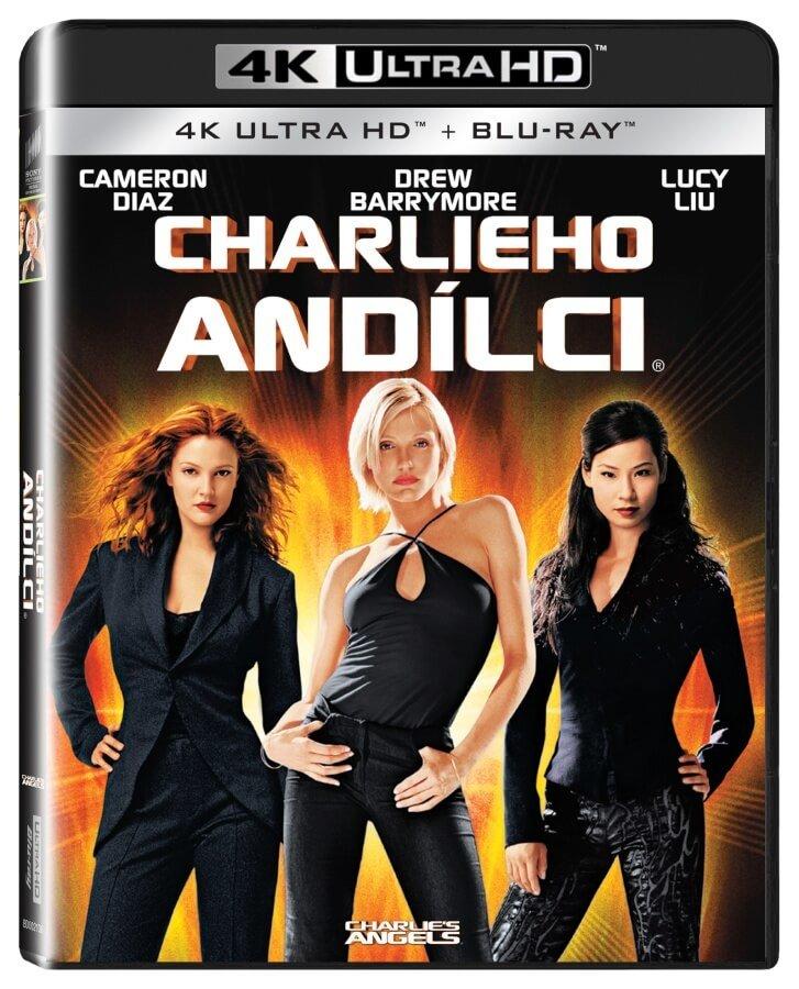 Charlieho andílci (4K ULTRA HD + BLU-RAY) (2 BLU-RAY)