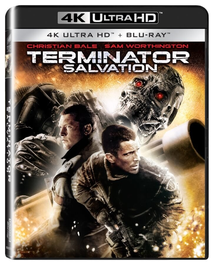 Terminator Salvation (4K ULTRA HD + BLU-RAY) (2 BLU-RAY)