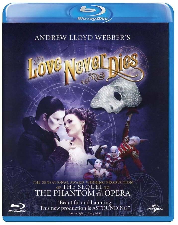 Láska nikdy neumírá (BLU-RAY) - divadelní záznam - DOVOZ