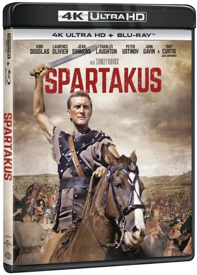 Spartacus (4K ULTRA HD + BLU-RAY) (2 BLU-RAY) - prodloužená verze