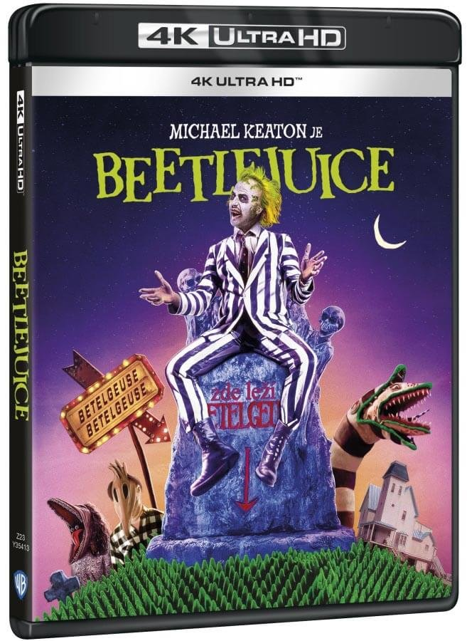 Beetlejuice (4K ULTRA HD BLU-RAY)