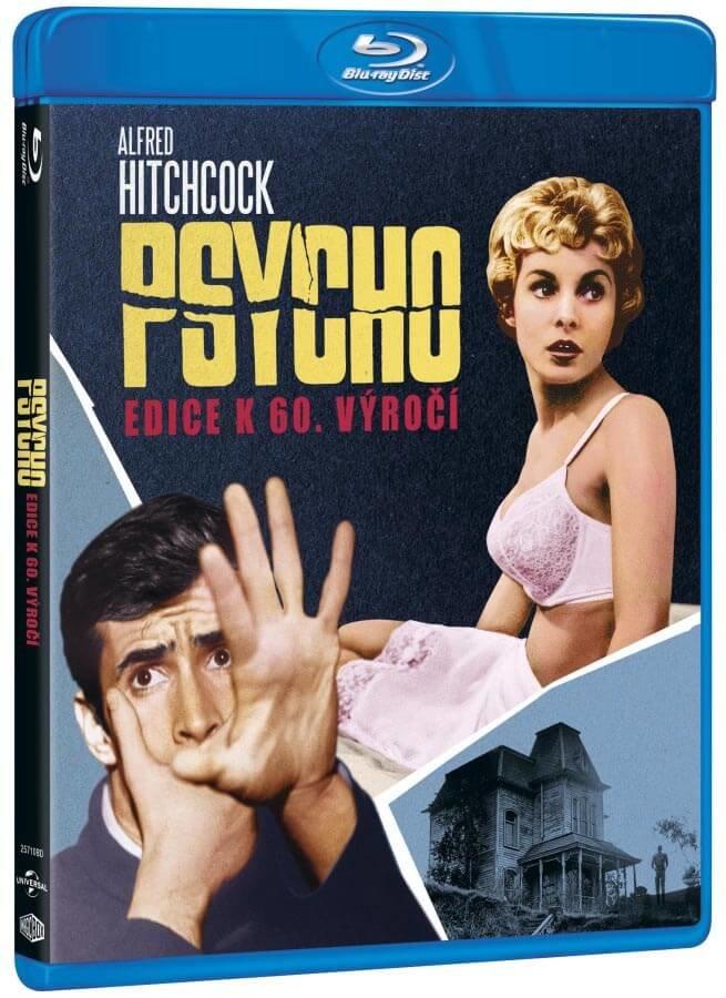 Psycho (1960) (BLU-RAY) - 2 verze filmu - edice k 60. výročí filmu
