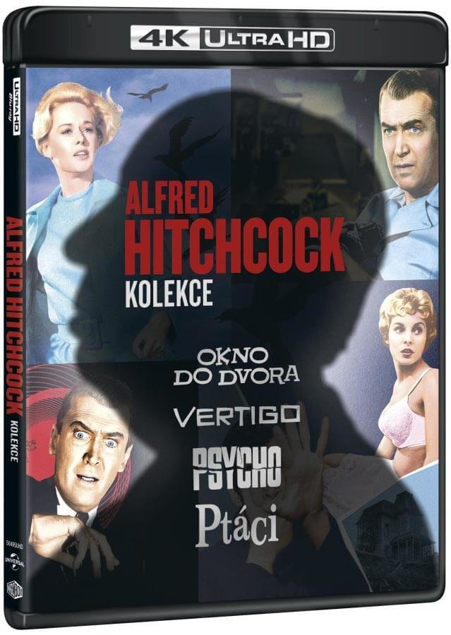 Alfred Hitchcock kolekce (4x 4K ULTRA HD BLU-RAY)