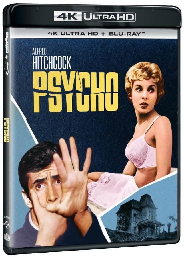 Psycho (1960) (4K ULTRA HD + BLU-RAY) (2 BLU-RAY) - 2 verze filmu