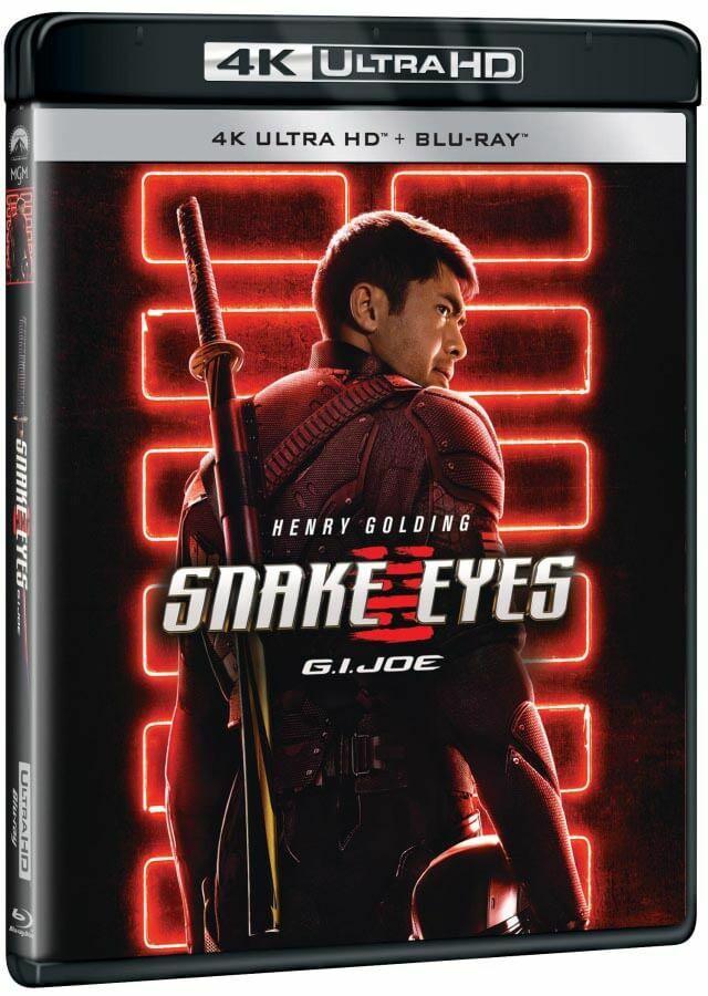 G.I. Joe 3: Snake Eyes (4K ULTRA HD + BLU-RAY) (2 BLU-RAY)