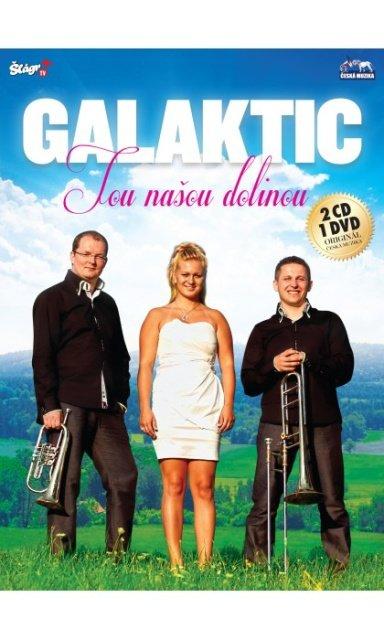 GALAKTIK - Tou nasou dolinou 2 CD + 1 DVD