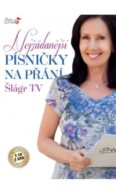 Nejžádanější písničky na přání TV Šlágr 3 CD + 2 DVD