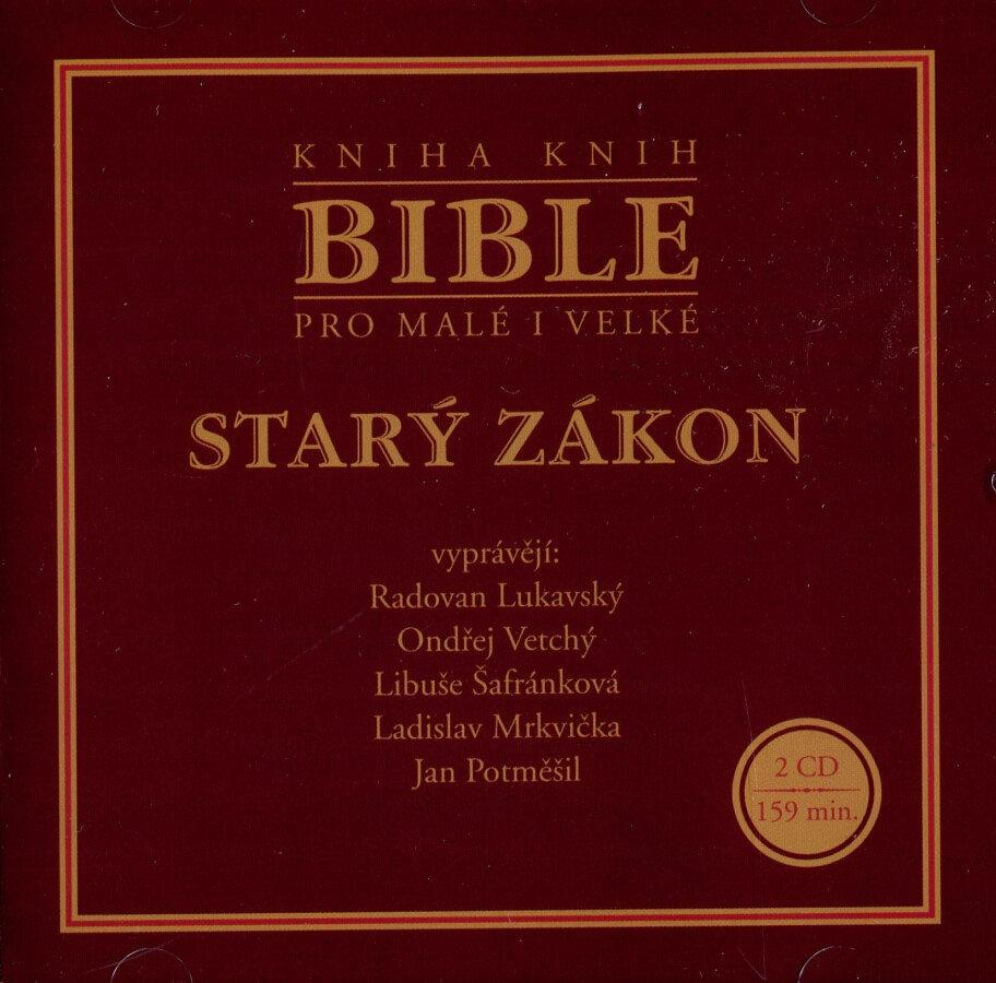 Bible pro malé i velké - Starý zákon (Audiokniha) - 2xCD