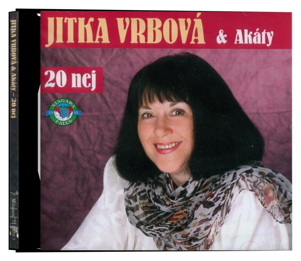 Jitka Vrbová: 20 nej od Jitky Vrbové(CD)