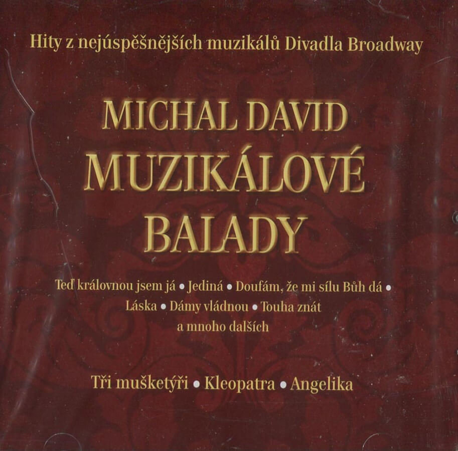 Michal David - Muzikálové balady (CD)