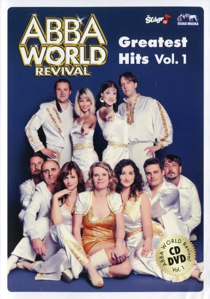 ABBA WORLD REVIVAL - Greatest Hits Vol. 1 (1xCD + 1xDVD)