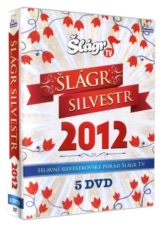 ŠLÁGR SILVESTR 2012 (5xDVD)