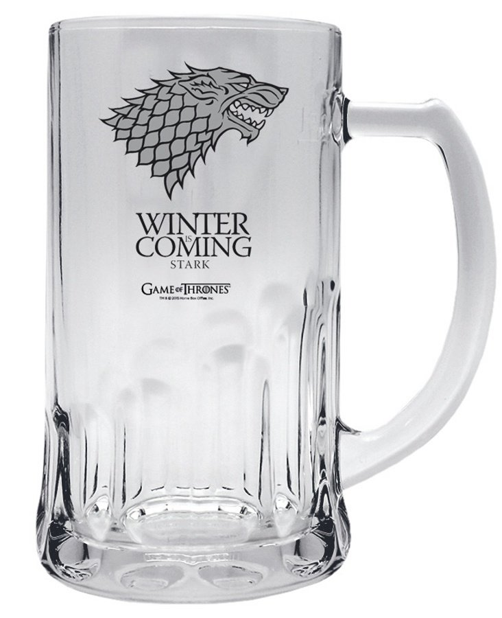 Půllitr Game of Thrones - Stark (0,5 L)