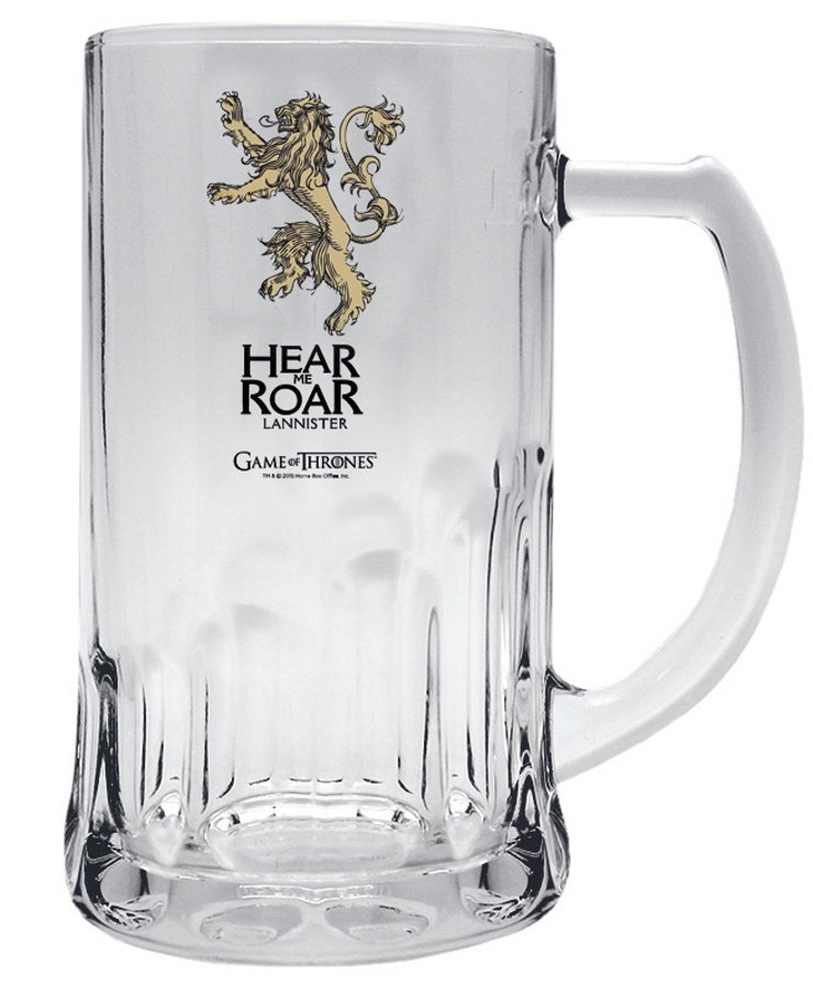 Půllitr Game of Thrones - Lannister (0,5 L)