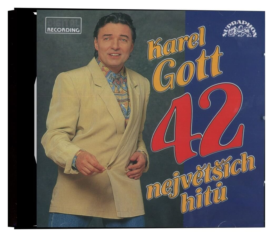 Karel Gott: 42 největších hitů (2CD)