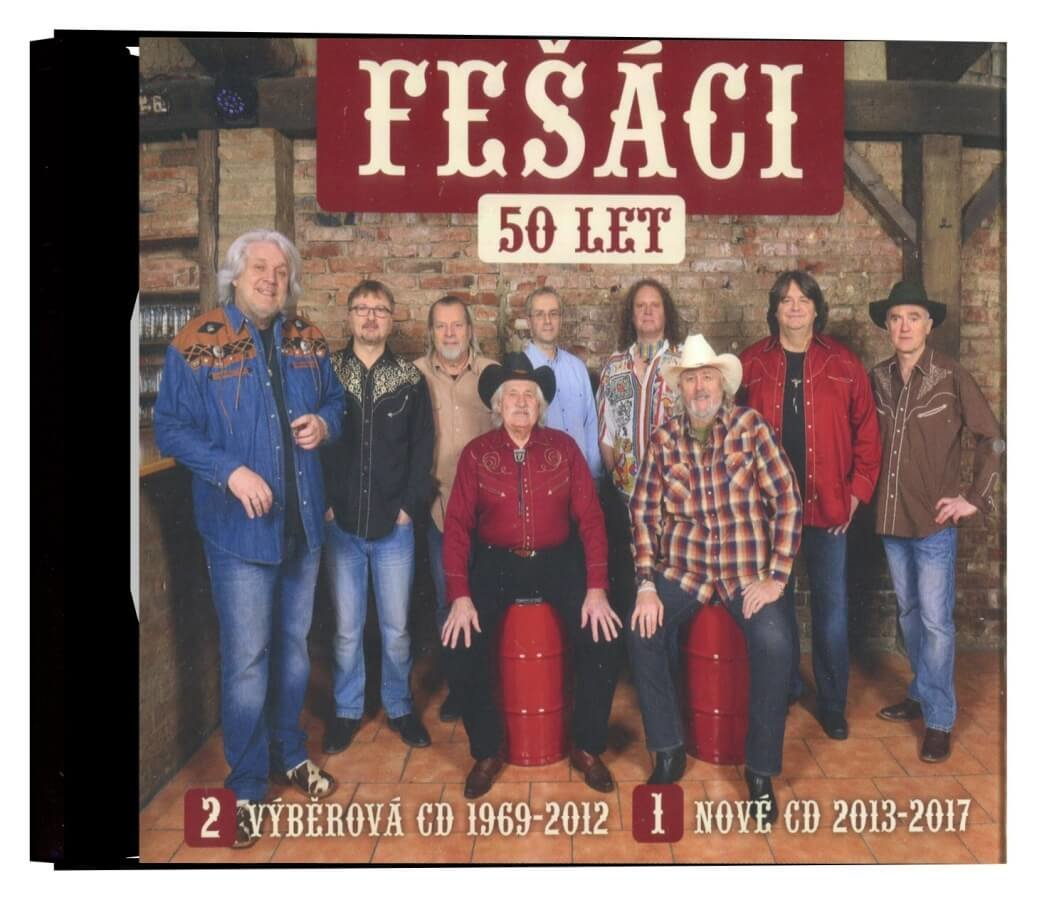 Fešáci - 50 let (1969-2017) (3CD)