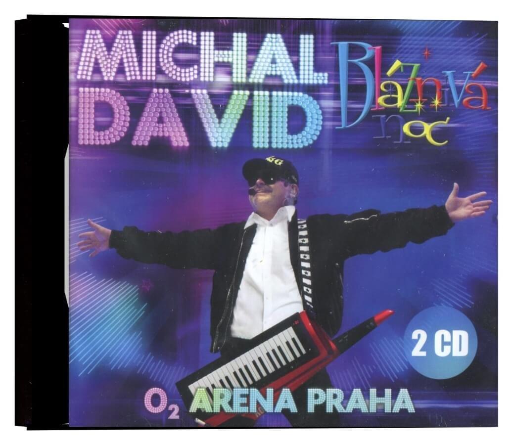 Michal David - Bláznivá noc (2CD) - záznam koncertu, O2 Arena Praha