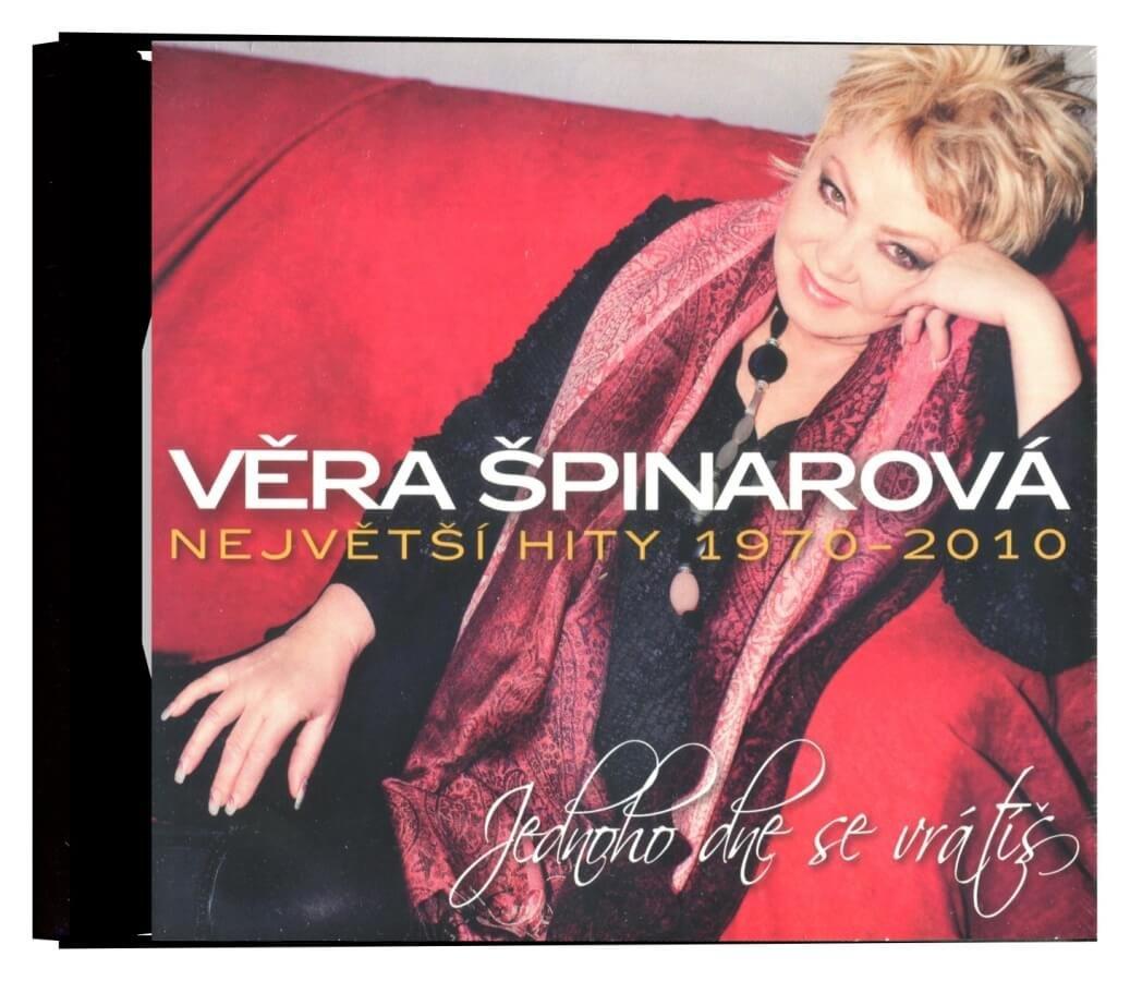 Věra Špinarová - Jednoho dne se vrátíš - Největší hity 1970-2010 (3CD)