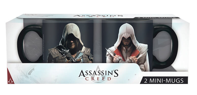 Hrnečky Assassin's Creed 110ml - Ezio & Edward