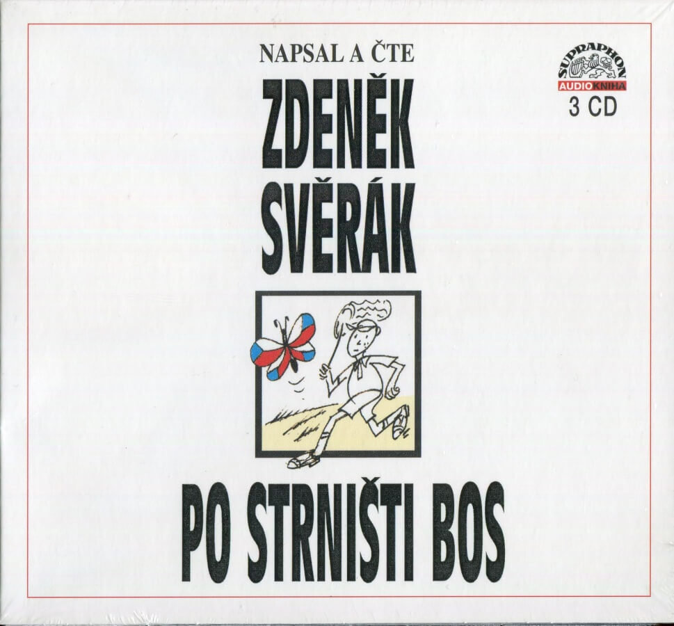 Po strništi bos (3 CD) - audiokniha, vypráví Zdeněk Svěrák