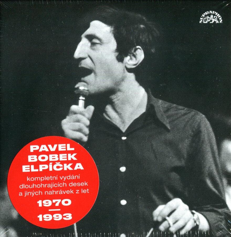 Pavel Bobek: Elpíčka (8 CD) - kompletní vydání alb 1970-1993