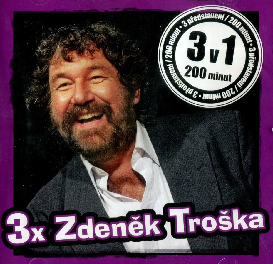 Zdeněk Troška, 3 představení (CD-MP3) - mluvené slovo