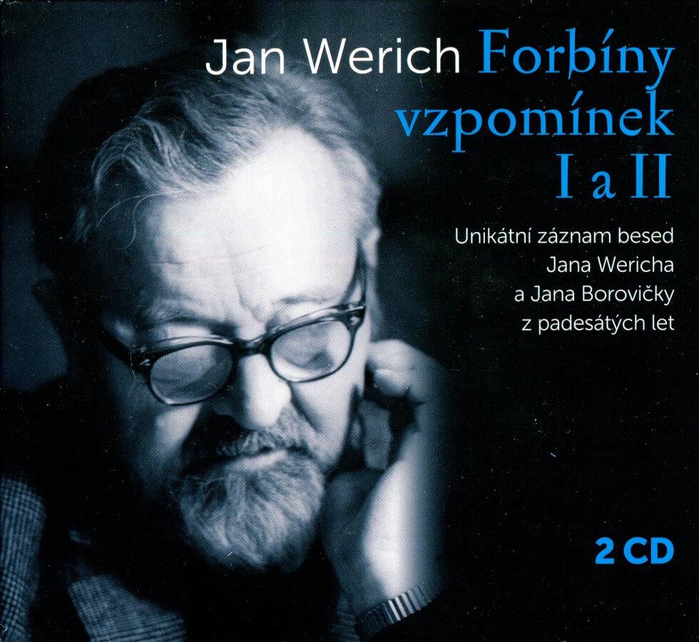 Jan Werich: Forbíny vzpomínek I a II (2 CD) - mluvené slovo