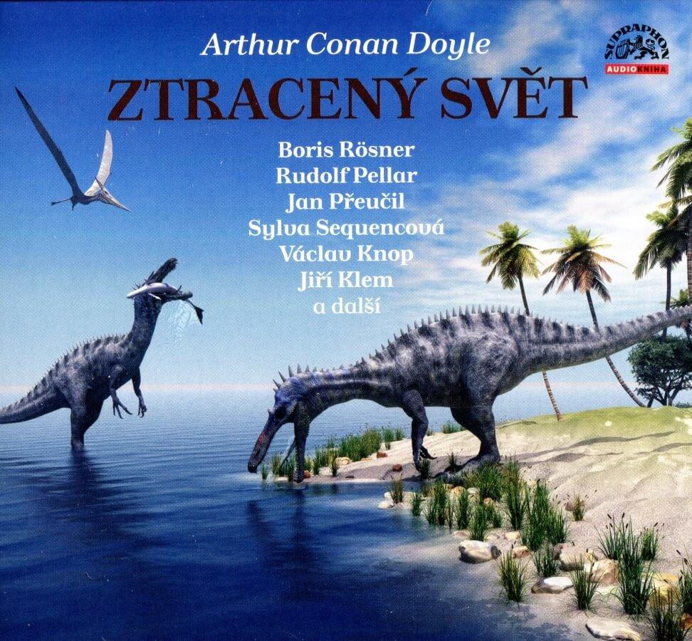 Ztracený svět, Arthur Conan Doyle (CD) - audiokniha