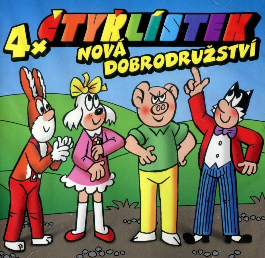 Čtyřlístek - Nová dobrodužství (CD) - audiokniha