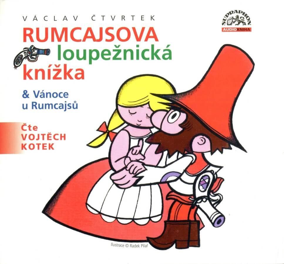 Václav Čtvrtek: Rumcajsova loupežnická knížka (CD) - audiokniha