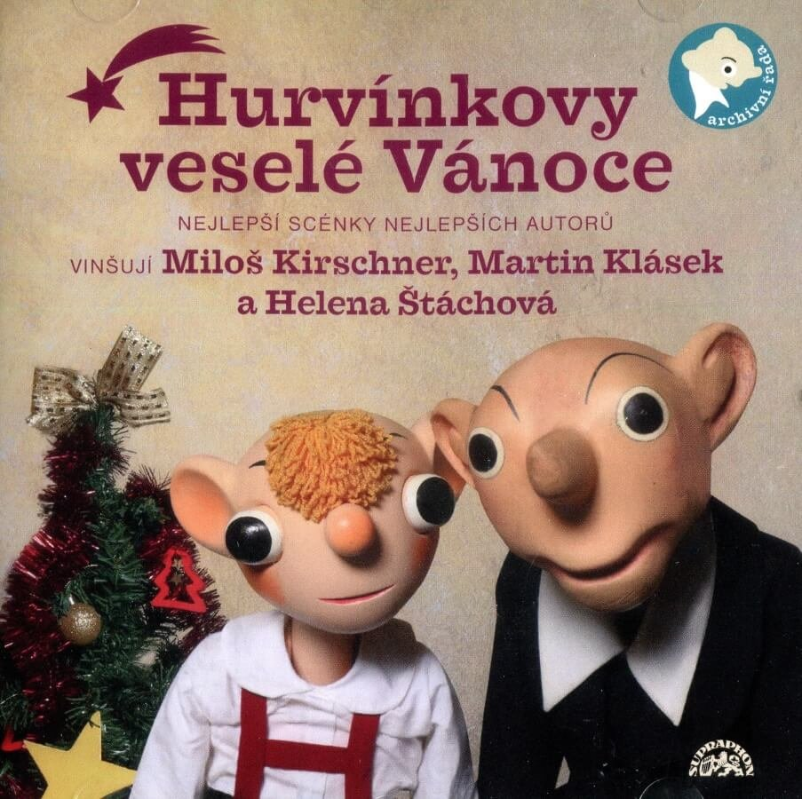 Hurvínkovy veselé Vánoce (CD) - mluvené slovo