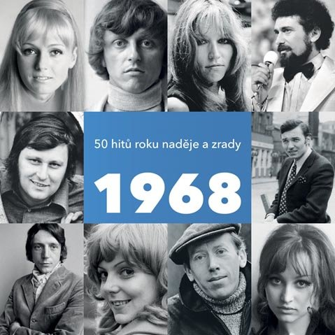 1968 / 50 hitů roku naděje a zrady, Různí interpreti (2 CD)