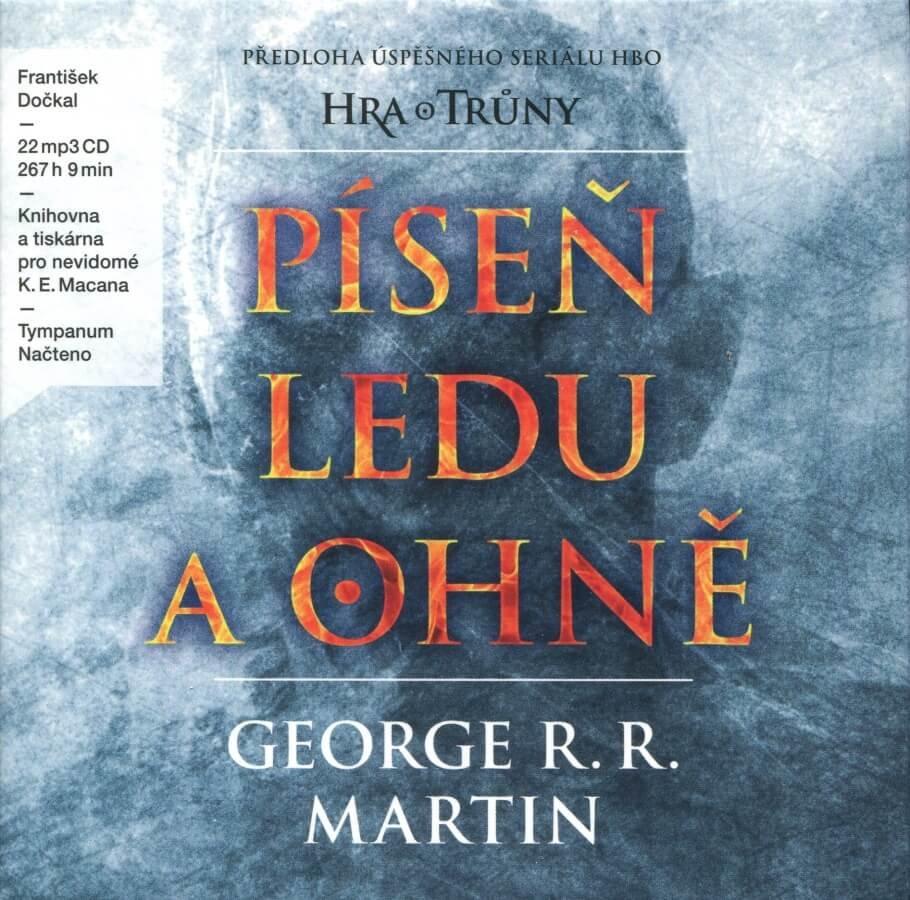 Píseň ledu a ohně, František Dočkal (22 MP3-CD) - audiokniha
