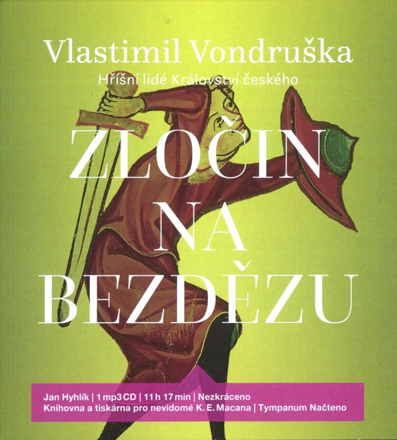 Vondruška: Zločin na Bezdězu, Jan Hyhlík (MP3-CD) - audiokniha