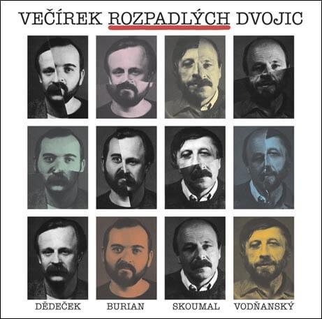 Skoumal&Vodňanský/Dědeček&Burian: Večírek rozpadlých dvojic (2 CD)